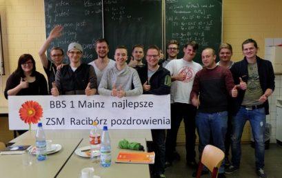 Pozdrowienia od uczniów z Mainz