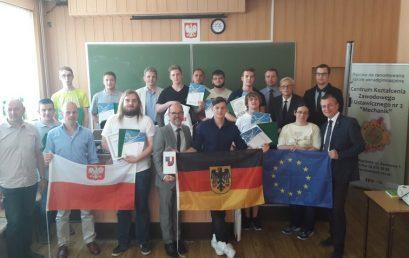 Młodzi Niemcy z Mainz zakończyli praktykę w Raciborzu