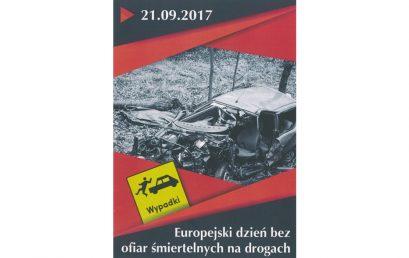 Europejski dzień bez ofiar na drogach