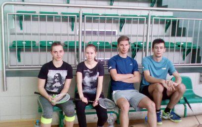 Pierwsze punkty zdobyte – badminton