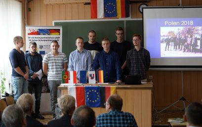 Pożegnanie uczniów z Brunszwiku
