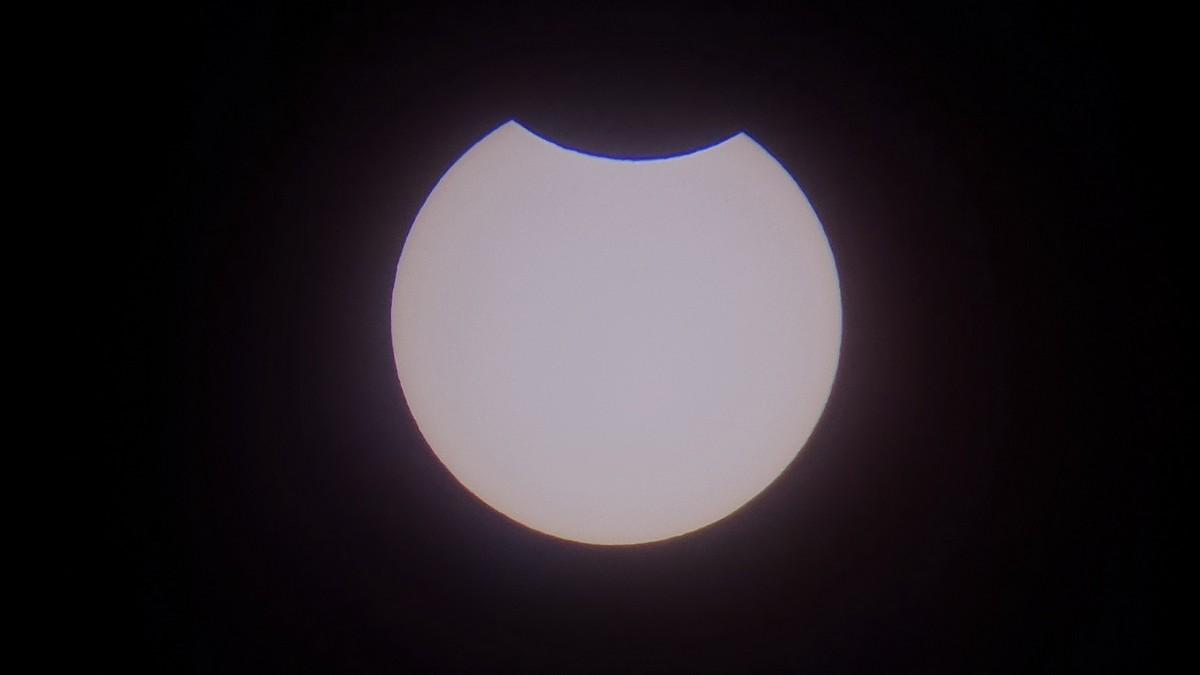 """Częściowe zaćmienie Słońca w """"Mechaniku"""""""