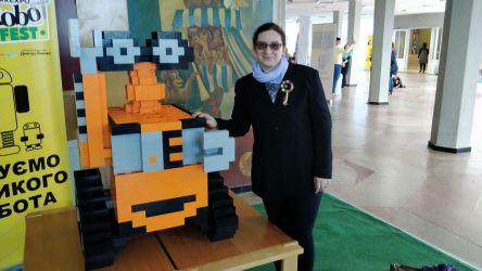 efekt wspólnej pracy wszystkich uczestników festiwalu - WALL·E