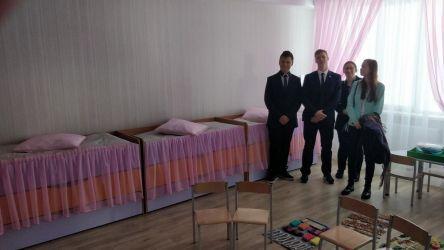 sypialnia w przedszkolu