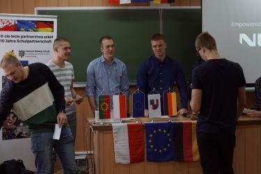 Zakończenie praktyk uczniów z Niemiec 2018-2019 01
