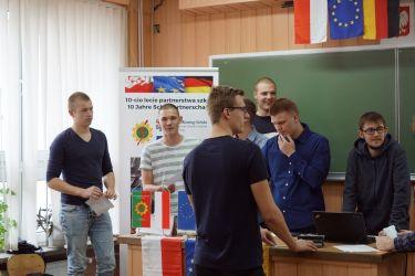 Zakończenie praktyk uczniów z Niemiec 2018-2019 03