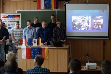 Zakończenie praktyk uczniów z Niemiec 2018-2019 13